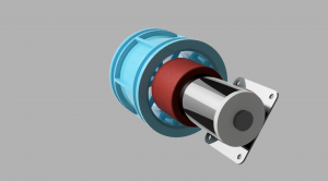 Wheel hub and motor