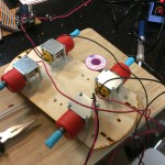 Soldering thicker wires to the motors